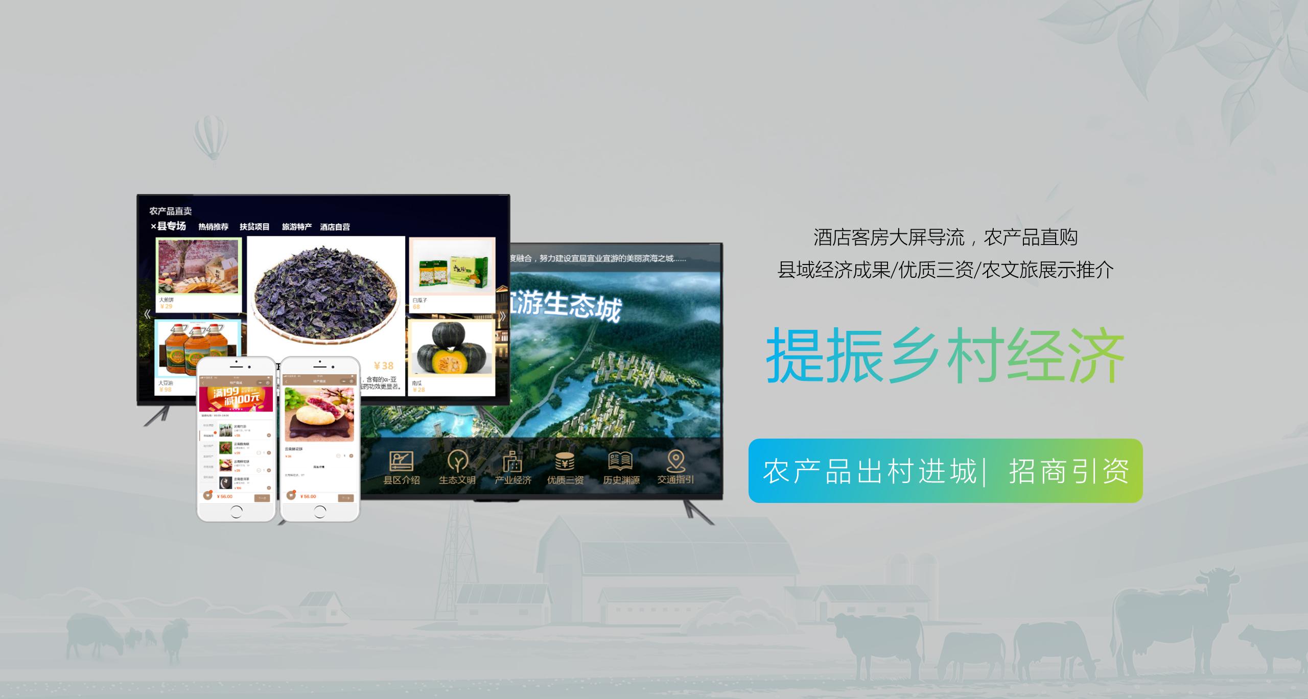 盛阳科技数字乡村振兴服务平台2-6
